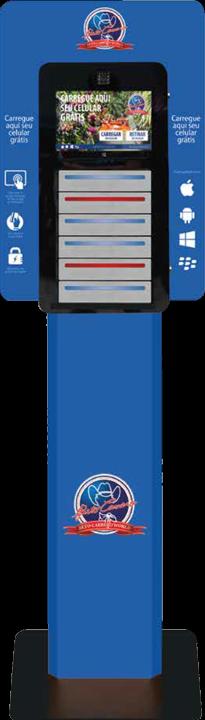 Personalização Totem Carregador de Bateria de Celular - Beto Carrero